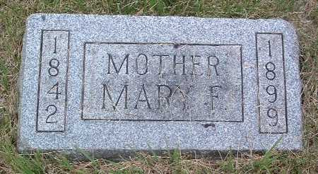 GLASSBURN, MARY F. - Mills County, Iowa | MARY F. GLASSBURN