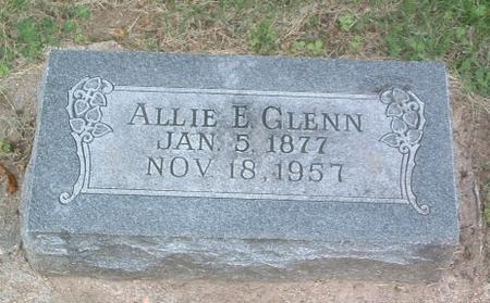 GLENN, ALLIE E. - Mills County, Iowa | ALLIE E. GLENN