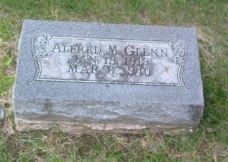 GLENN, ALFRED M. - Mills County, Iowa | ALFRED M. GLENN