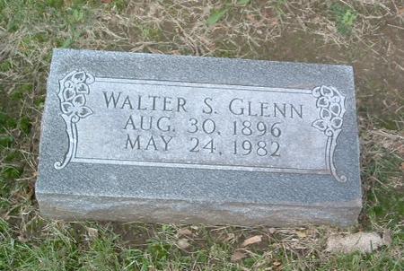 GLENN, WALTER S. - Mills County, Iowa   WALTER S. GLENN
