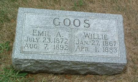 GOOS, EMIL A. - Mills County, Iowa | EMIL A. GOOS