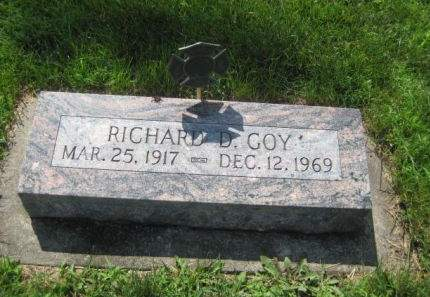 GOY, RICHARD D. - Mills County, Iowa | RICHARD D. GOY