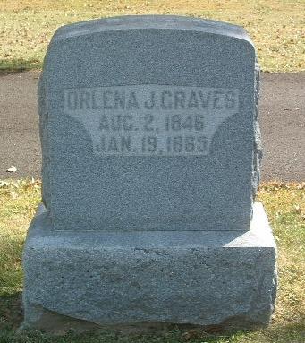 GRAVES, ORLENA J. - Mills County, Iowa | ORLENA J. GRAVES