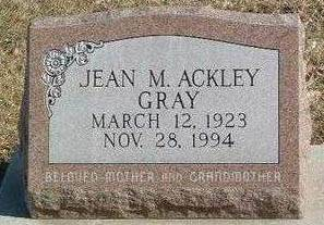 GRAY, JEAN M. - Mills County, Iowa | JEAN M. GRAY