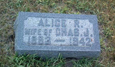 GREEN, ALICE R. - Mills County, Iowa | ALICE R. GREEN