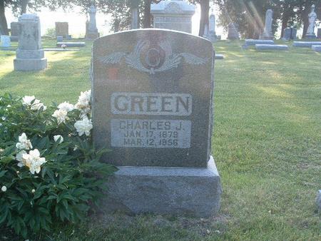 GREEN, CHARLES J. - Mills County, Iowa | CHARLES J. GREEN