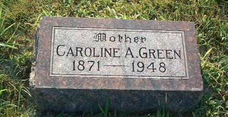 GREEN, CAROLINE A. - Mills County, Iowa | CAROLINE A. GREEN