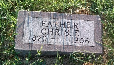 GREEN, CHRIS F. - Mills County, Iowa   CHRIS F. GREEN
