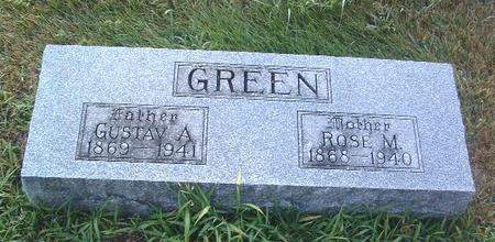 GREEN, ROSE M. - Mills County, Iowa | ROSE M. GREEN