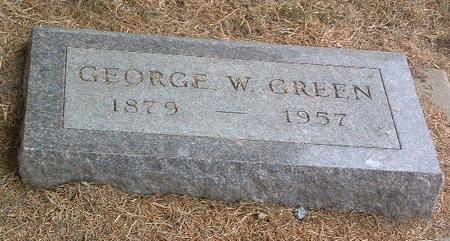 GREEN, GEORGE W. - Mills County, Iowa | GEORGE W. GREEN
