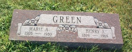 GREEN, HENRY J. - Mills County, Iowa | HENRY J. GREEN