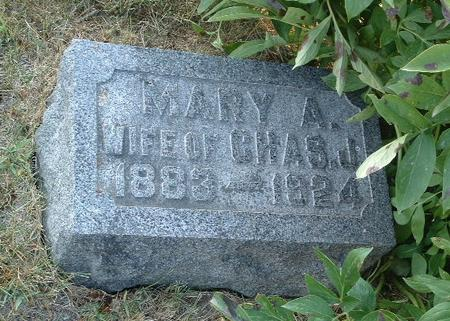 GREEN, MARY A. - Mills County, Iowa   MARY A. GREEN