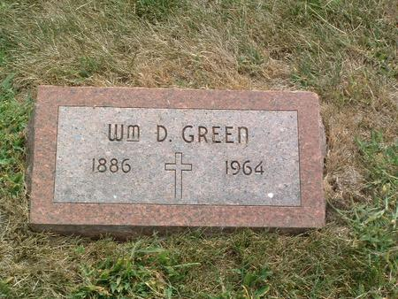 GREEN, WM. D. - Mills County, Iowa | WM. D. GREEN