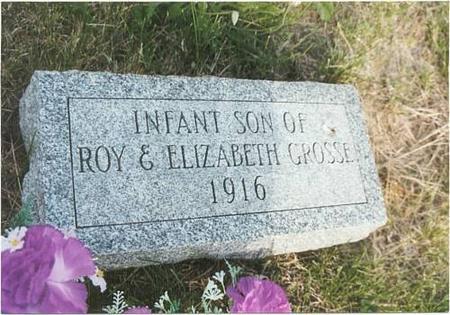 GROSSE, INFANT SON - Mills County, Iowa | INFANT SON GROSSE