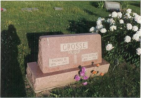 STOUT GROSSE, EFFIE ESTELLA - Mills County, Iowa | EFFIE ESTELLA STOUT GROSSE