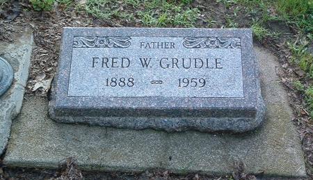 GRUDLE, FRED W. - Mills County, Iowa | FRED W. GRUDLE