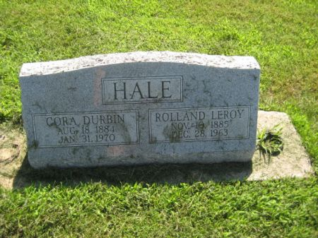 HALE, ROLLAND LEROY - Mills County, Iowa   ROLLAND LEROY HALE