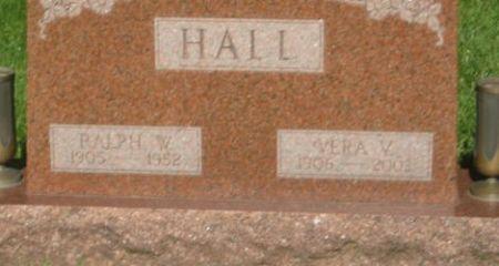 HALL, VERA V. - Mills County, Iowa | VERA V. HALL