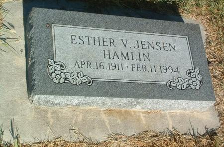 JENSEN HAMLIN, ESTHER V. - Mills County, Iowa | ESTHER V. JENSEN HAMLIN