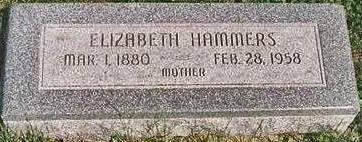 HAMMERS, ELIZABETH - Mills County, Iowa | ELIZABETH HAMMERS