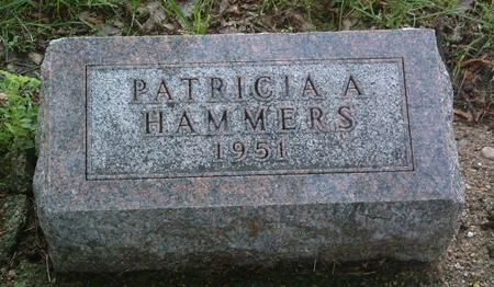 HAMMERS, PATRICIA A. - Mills County, Iowa | PATRICIA A. HAMMERS