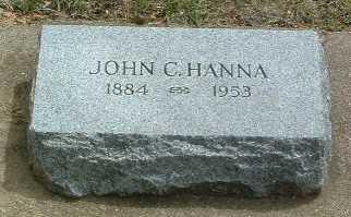 HANNA, JOHN C. - Mills County, Iowa | JOHN C. HANNA