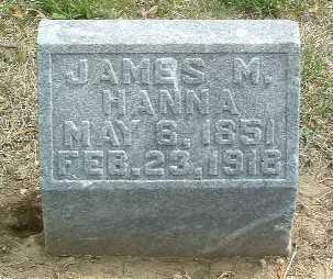 HANNA, JAMES M. - Mills County, Iowa | JAMES M. HANNA