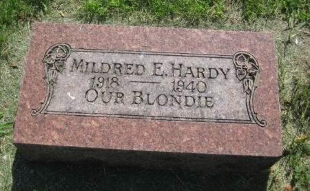 HARDY, MILDRED E. - Mills County, Iowa | MILDRED E. HARDY