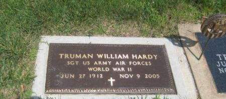 HARDY, TRUMAN WILLIAM - Mills County, Iowa | TRUMAN WILLIAM HARDY