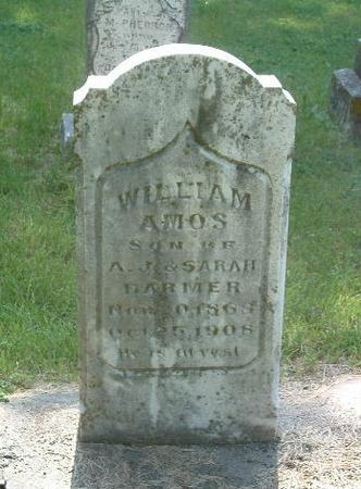 HARMER, WILLIAM AMOS - Mills County, Iowa | WILLIAM AMOS HARMER