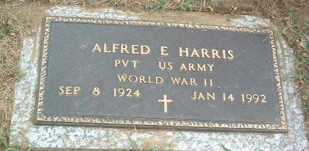 HARRIS, ALFRED E. - Mills County, Iowa | ALFRED E. HARRIS