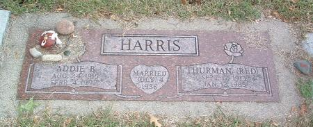 HARRIS, THURMAN (RED) - Mills County, Iowa | THURMAN (RED) HARRIS