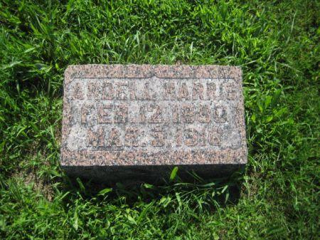 HARRIS, ARDELL - Mills County, Iowa | ARDELL HARRIS