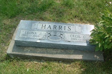HARRIS, CECIL C. - Mills County, Iowa | CECIL C. HARRIS