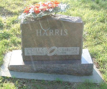 HARRIS, CHARLES F. - Mills County, Iowa | CHARLES F. HARRIS