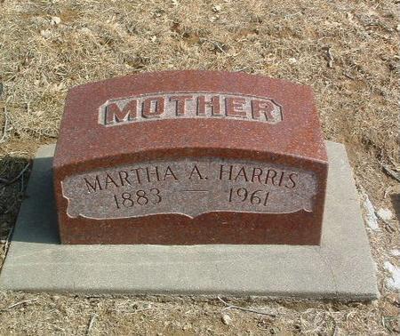 HARRIS, MARTHA A. - Mills County, Iowa   MARTHA A. HARRIS