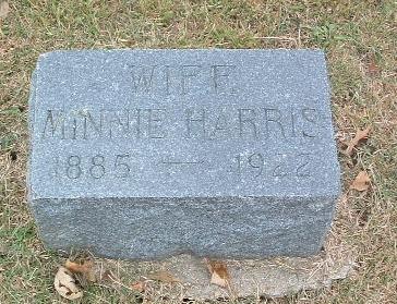 HARRIS, MINNIE - Mills County, Iowa | MINNIE HARRIS