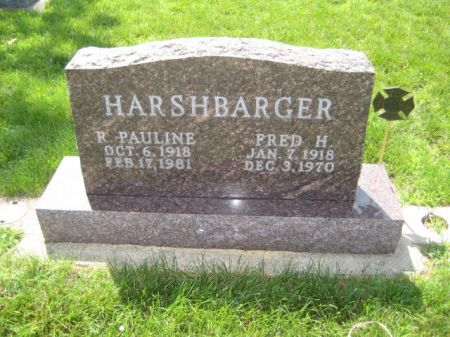HARSHBARGER, FRED H. - Mills County, Iowa | FRED H. HARSHBARGER