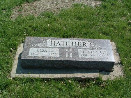 HATCHER, ELSA L. - Mills County, Iowa | ELSA L. HATCHER