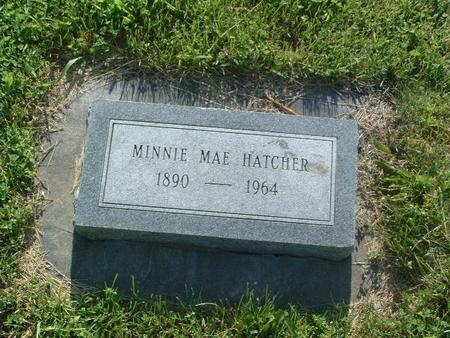 HATCHER, MINNIE MAE - Mills County, Iowa | MINNIE MAE HATCHER