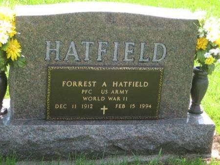 HATFIELD, FORREST A. - Mills County, Iowa   FORREST A. HATFIELD