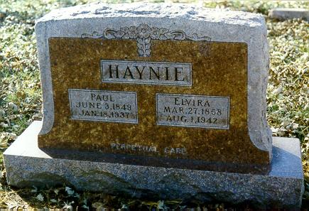 HAYNIE, PAUL - Mills County, Iowa | PAUL HAYNIE