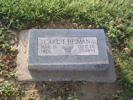 HEIMAN, CARL T. - Mills County, Iowa | CARL T. HEIMAN