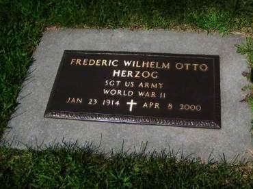 HERZOG, FREDERIC WILHELM OTTO - Mills County, Iowa | FREDERIC WILHELM OTTO HERZOG