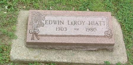 HIATT, EDWIN LEROY - Mills County, Iowa | EDWIN LEROY HIATT