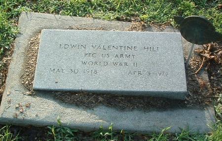 HILL, EDWIN VALENTINE - Mills County, Iowa   EDWIN VALENTINE HILL