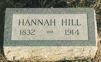 HILL, HANNAH - Mills County, Iowa | HANNAH HILL