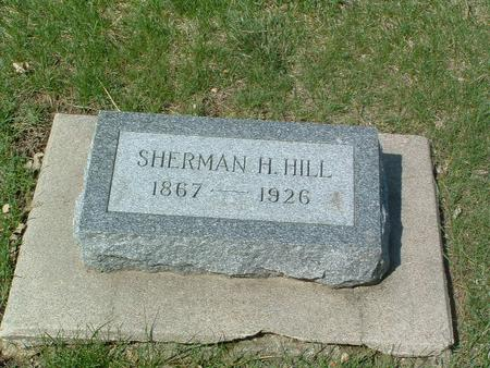 HILL, SHERMAN H. - Mills County, Iowa | SHERMAN H. HILL
