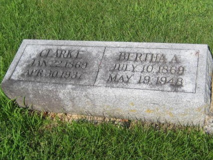 HILTON, BERTHA A. - Mills County, Iowa | BERTHA A. HILTON