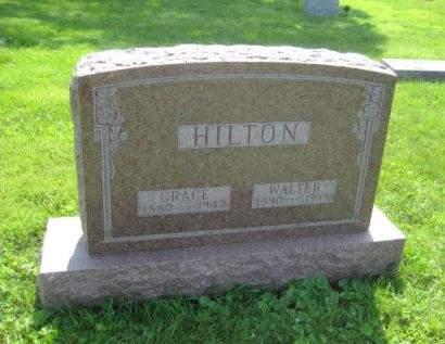 HILTON, GRACE - Mills County, Iowa   GRACE HILTON
